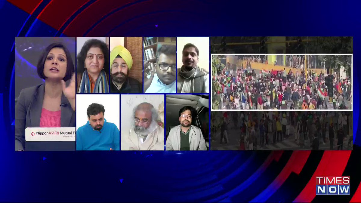 What kind of precautions were taken by the farmers' organisation. What kind of measures were taken to find the identity of the people participating in the protest: @jsaideepak, Advocate, tells Padmaja Joshi on@thenewshour AGENDA. | #RDaySpiritShamed