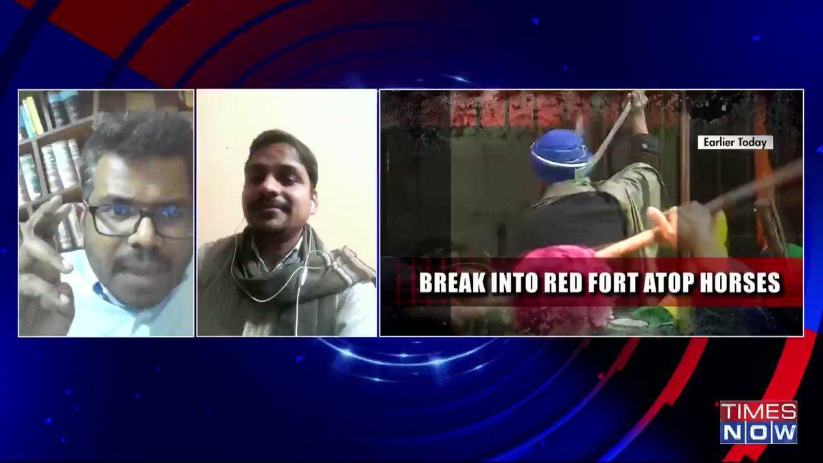 This is premeditated. This is deliberate: @jsaideepak, Advocate, tells Padmaja Joshi on@thenewshour AGENDA. | #RDaySpiritShamed
