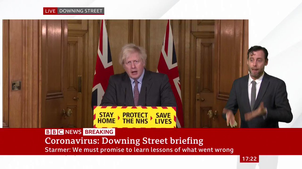 """Asked if the government could have done more to saves lives, PM Boris Johnson says """"we did everything that we could to minimise suffering and minimise loss of life in this country as a result of the pandemic"""""""