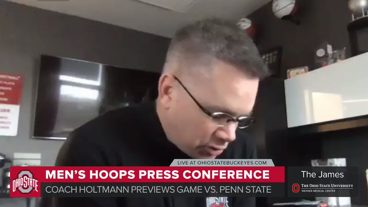 🗣🏀 @ChrisHoltmann details the critical points to victory as @OhioStateHoops takes on Penn State on Wednesday night.  ➝   #GoBuckeyes