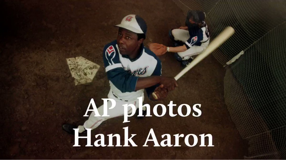 """His swing, his smile, his spirit. They were all beautiful.""  Baseball gathers to honor Hank Aaron.  by @pnewberry1963 >>"