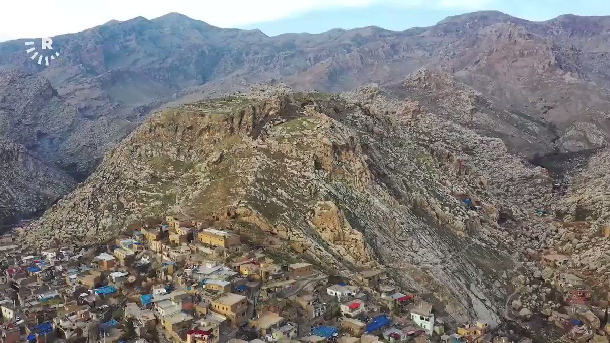 Good morning from the #Kurdistan Region! The beautiful town of Akre in #Duhok province. January 2021. Video by Hoshang Fetah
