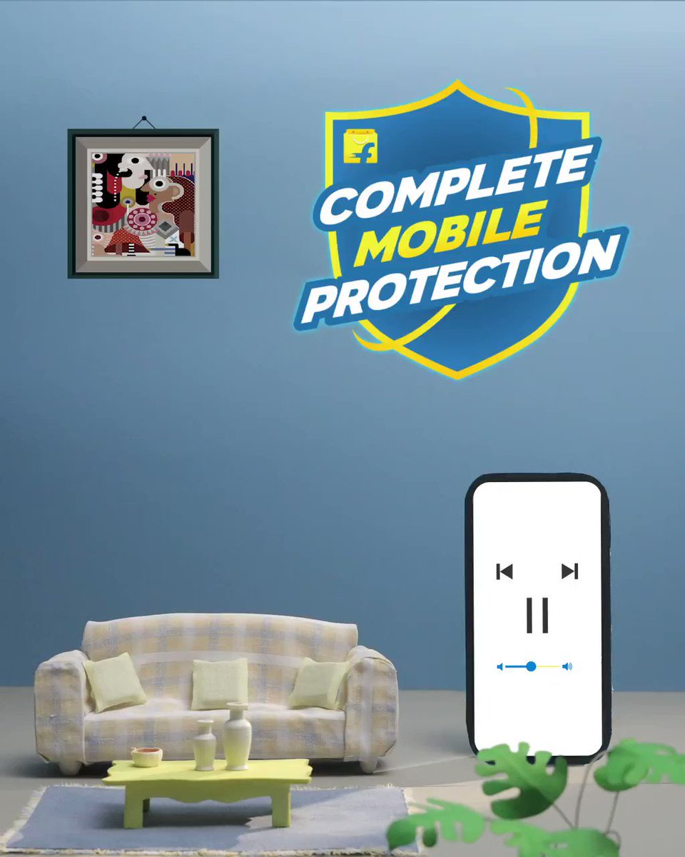Protect your phone from accidental screen damage, hardware/software issues, water damage and much more!  Get the Complete Mobile Protection plan for your smartphone from Flipkart and enjoy these amazing services. Starting from Rs 299/- only.