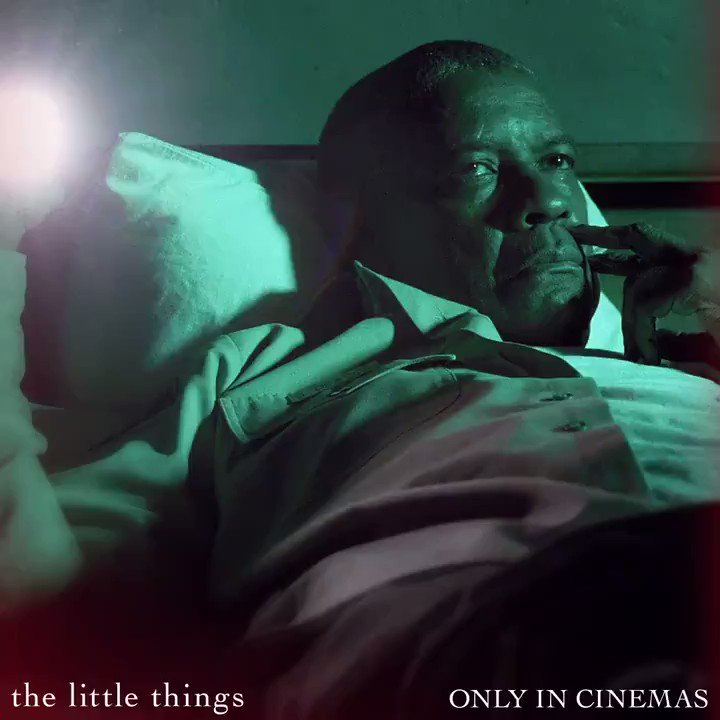 """2 days To Go!  Watch the Psychological Crime Thriller """"The Little Things"""" starring Academy Award ®Winners Denzel Washington, Rami Malek and Jared Leto in #INOX January 29.  #TheLittleThingsMovie"""