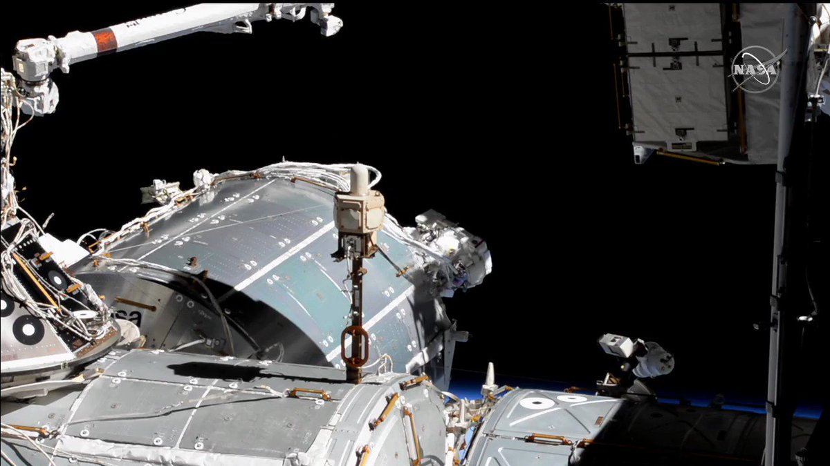 Check out this detailed rundown for more on the issues our spacewalking duo are tackling with mission control and an update on where they are in their task list for today:
