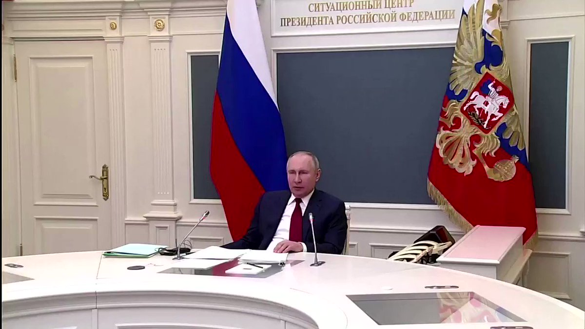 NEW - Russian President Putin: Big Tech monopoly giants compete with nations. They serve or restrict the natural human right to decide how to live, what to chose, which position to express freely.