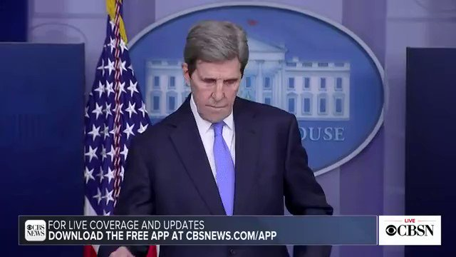 "John Kerry is asked what his message would be to oil and gas workers who ""see an end to their livelihoods"":  ""What President Biden wants to do is make sure that those folks have better choices... That they can be the people to go to work to make the solar panels."""