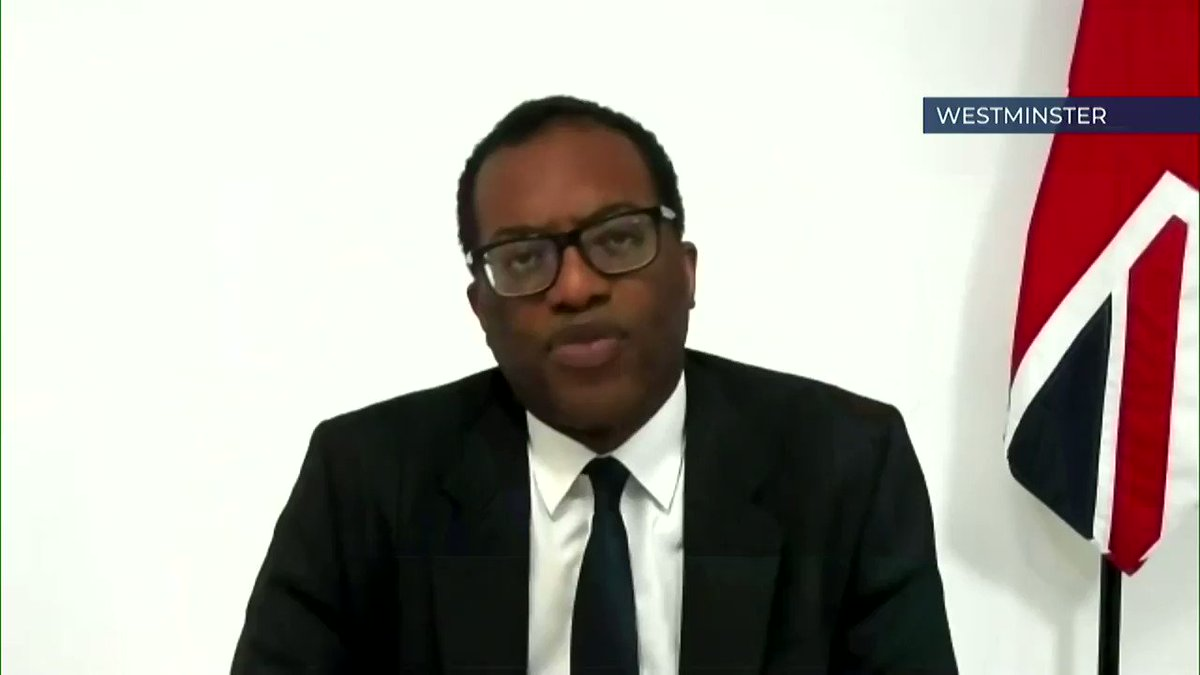 """I don't think that there's any real pressure on us to start thinking about exporting the vaccine""  Responding to the news of vaccine shortages in Europe, @KwasiKwarteng tells @Peston that the government is not currently looking to share AstraZeneca supplies with the EU. #Peston"