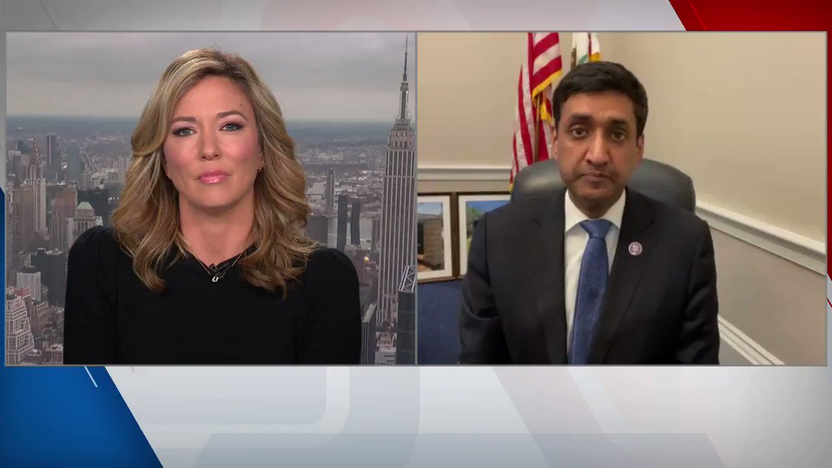 """Rep. Ro Khanna: """"It's amazing to me that [Donald Trump] still has such a hold on the Republican Party. And really, it's really sad."""" https://t.co/LEOjoeOUFU"""