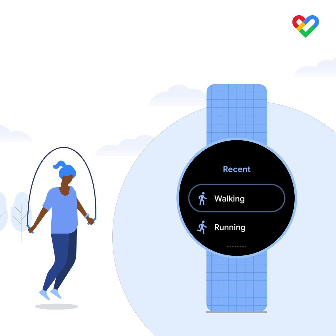 #GoogleFit works with a range of apps and devices, allowing you to see all of your activity results in one spot right from your watch, giving you no excuse to skip a workout 😏.