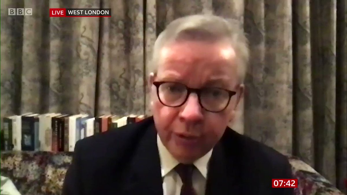 On #BBCBreakfast Cabinet Minister Michael Gove responds to the PM's plans to visit Scotland despite the First Minister Nicola Sturgeon questioning whether the trip is necessary.  More here: