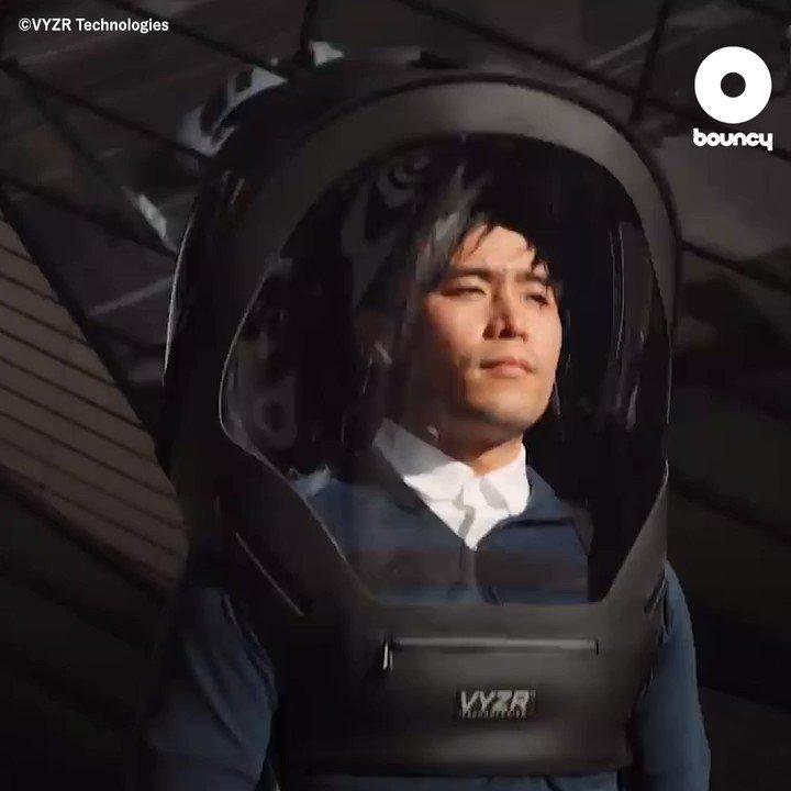 もはや宇宙服、N95フィルター搭載の次世代すぎるフェイスシールド「BioVYZR」by VYZR Technologies詳しくはこちら👉#フェイスシールド
