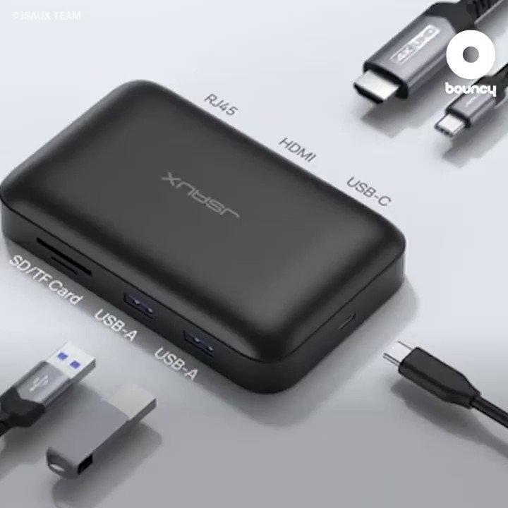 海外出張に頼れる相棒!SIMカードも収納できるコンパクトUSB Type-Cハブ「OmniCase」by JSAUX TEAM詳しくはこちら👉#USB