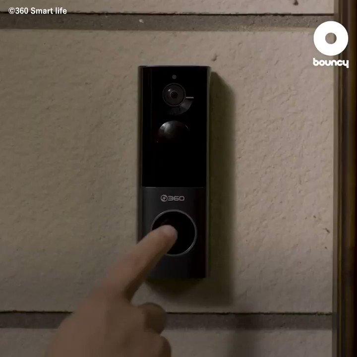 お家の防犯を強力にサポート!テレビドアホンの決定版「360 Video Doorbell X3」 by 360 Smart life詳しくはこちら👉#ドアホン #防犯