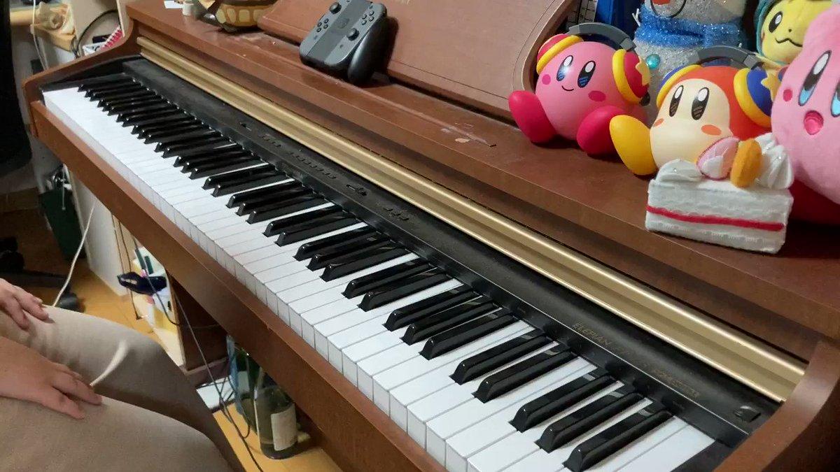 星のカービィ 参上ドロッチェ団 より森・自然エリア を弾いてみました!#星のカービィ #森・自然エリア #ピアノ