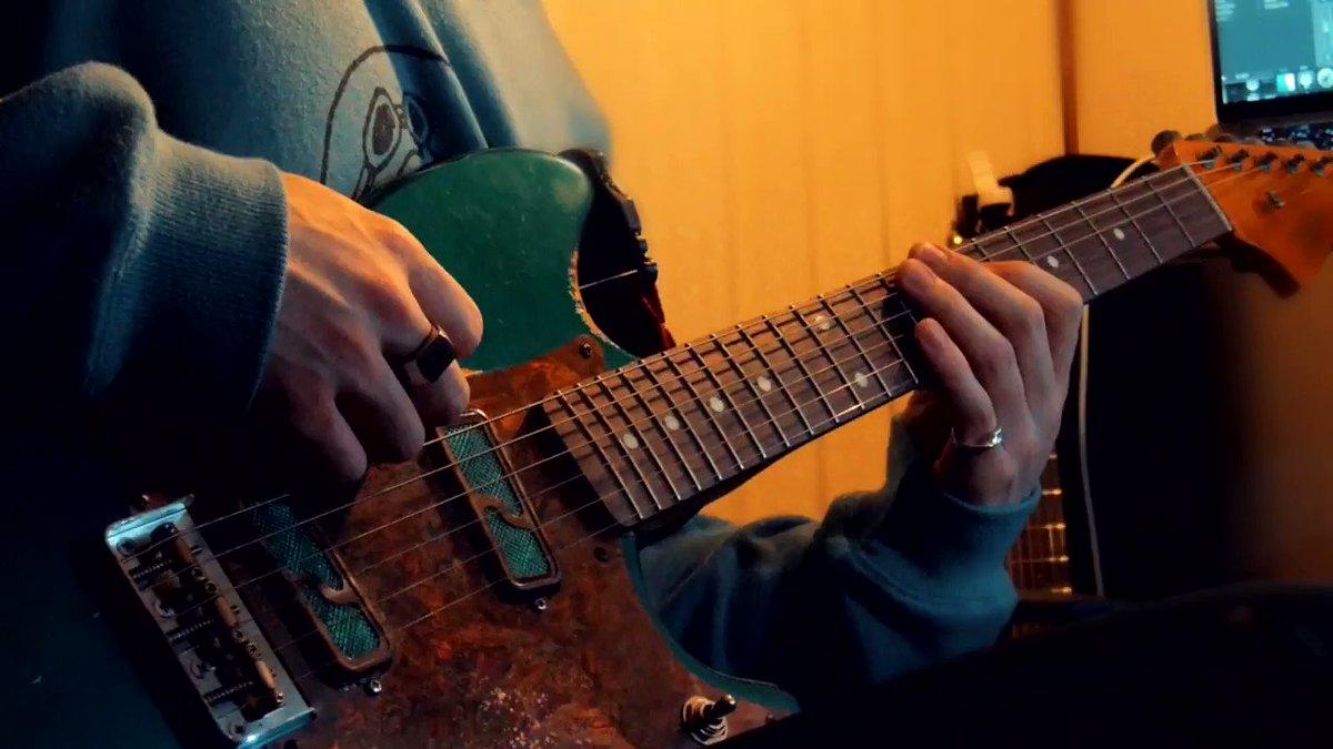 嘘月のギターソロ弾いてみました。音が良い。