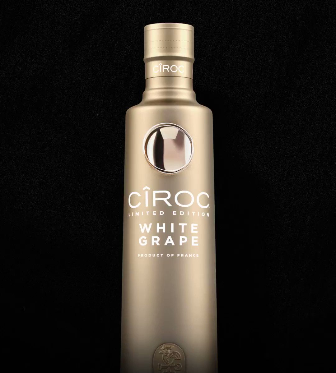 Big Games call for big, Ciroc style celebrations. Get into a winning mood with our limited edition CÎROC White Grape ultra premium vodka.