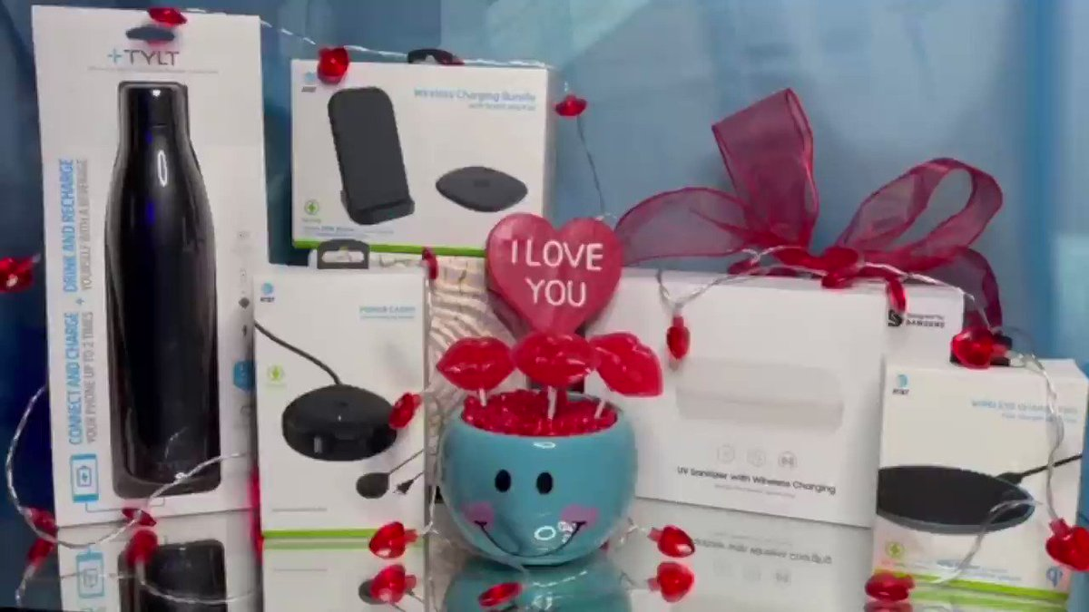 """Enter for a chance to win these power accessories!  RT or Reply to this post by 2/14/21 Tag a friend Include """"I love my phone"""" and #attexplore and #sweepstakes  No purch necessary. Rules:"""