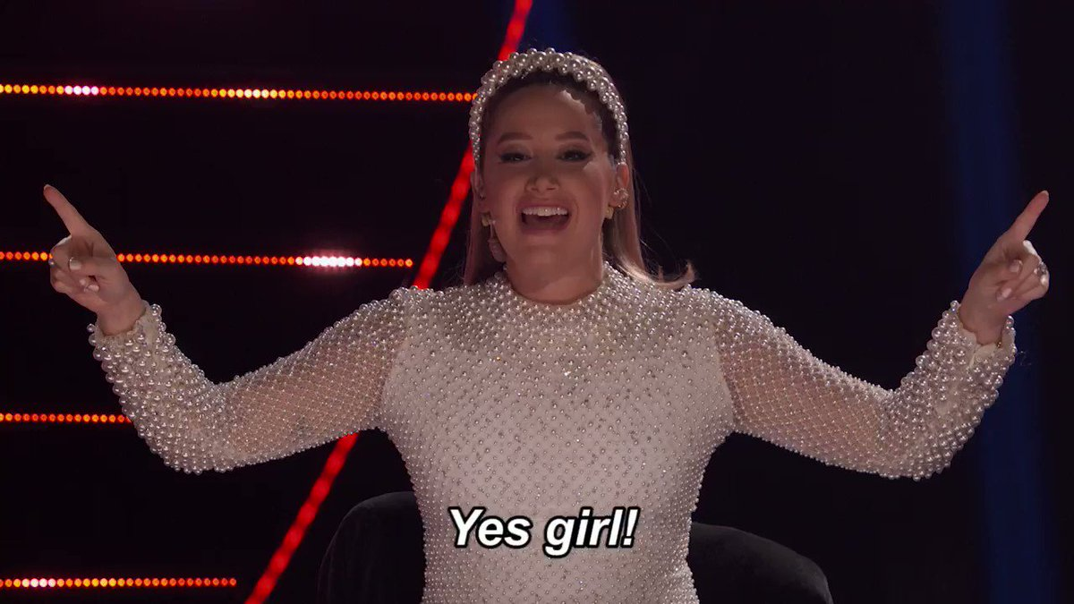.@ashleytisdale is all of us right now! 🙌 #TheMaskedDancer