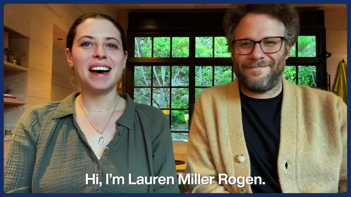 .@SethRogen and @IamLaurenMiller are excited for #HFCCareCon presented by @KPSeniorLiving, a virtual event to celebrate and empower Alzheimer's and dementia family caregivers!  Reserve your FREE spot now and join them tomorrow, #NationalCaregiversDay: