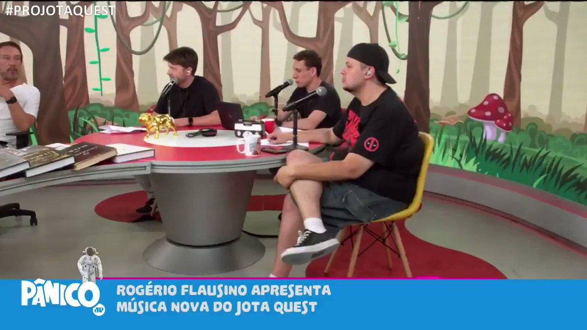 SER ARTISTA NA PANDEMIA  Rogério Flaustino vocalista e líder da banda Jota Quest contou no programa sobre como os artistas, tem passado pela pandemia.