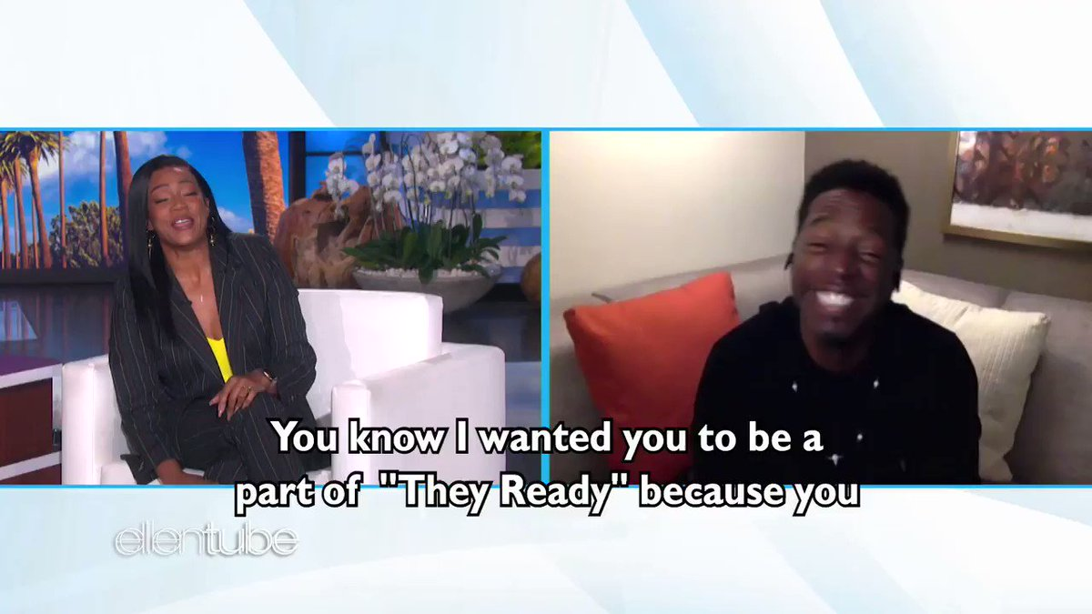 .@TracyMorgan does not like being impersonated, which @TiffanyHaddish and @IAmDeanEdwards found out the hard way.