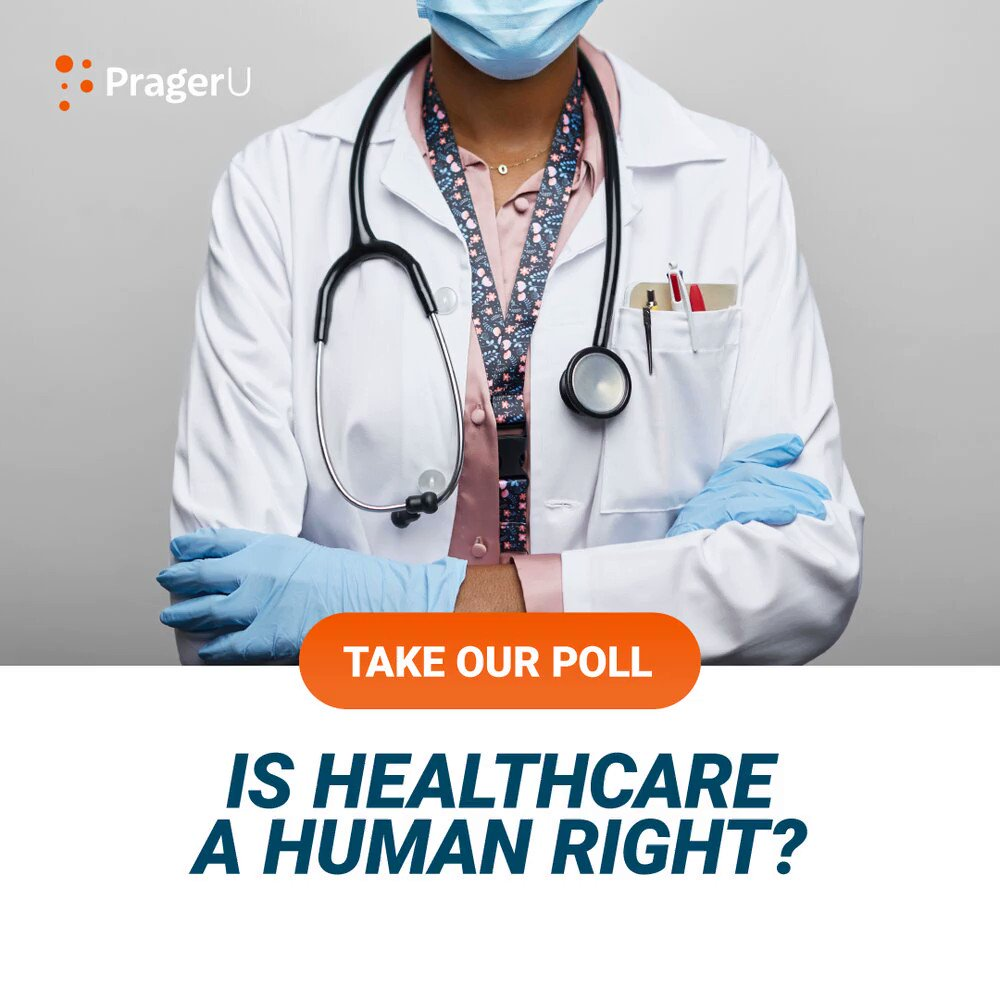 Image for the Tweet beginning: Is healthcare a human right?