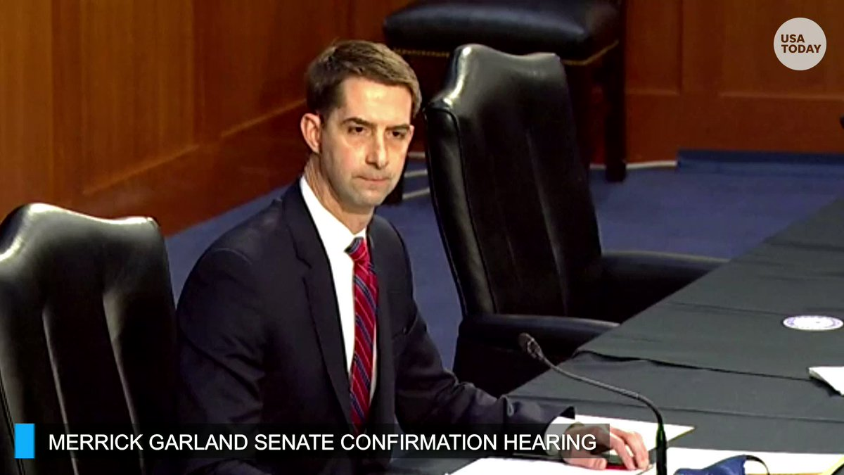 Merrick Garland: Yes, I think discrimination is morally wrong. Absolutely.  Sen. Tom Cotton: Are you aware President Biden has signed an executive order stating his administration will affirmatively advance racial equity, not racial equality but racial equity?