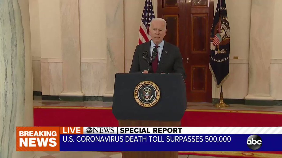 Biden Caught In Another Big Lie – Claims More Deaths from COVID than WWI, WWII and Vietnam Wars Combined – Simply Not True Kfuy9yN0E4EHHtoy
