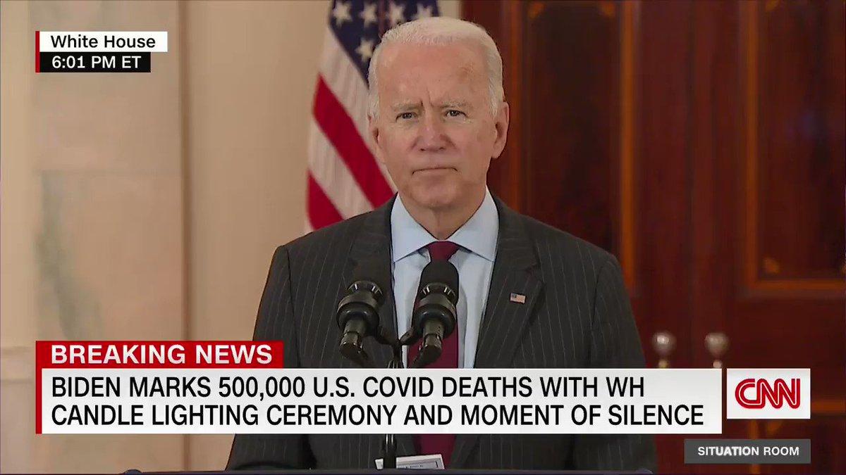 @CNN's photo on 500,000 COVID