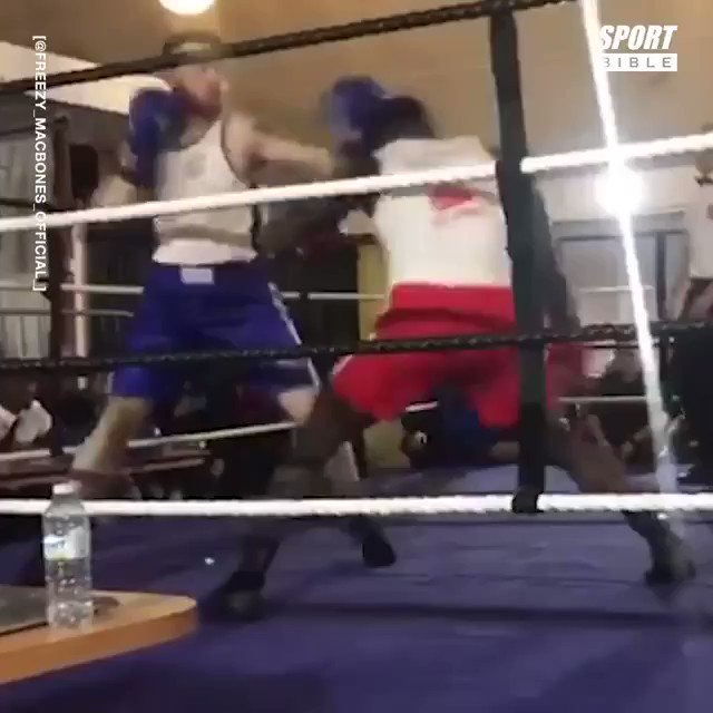 Replying to @ladbible: This amateur boxer hits so hard he's been dubbed the 'British Mike Tyson' 🥊😳  @SPORTbible