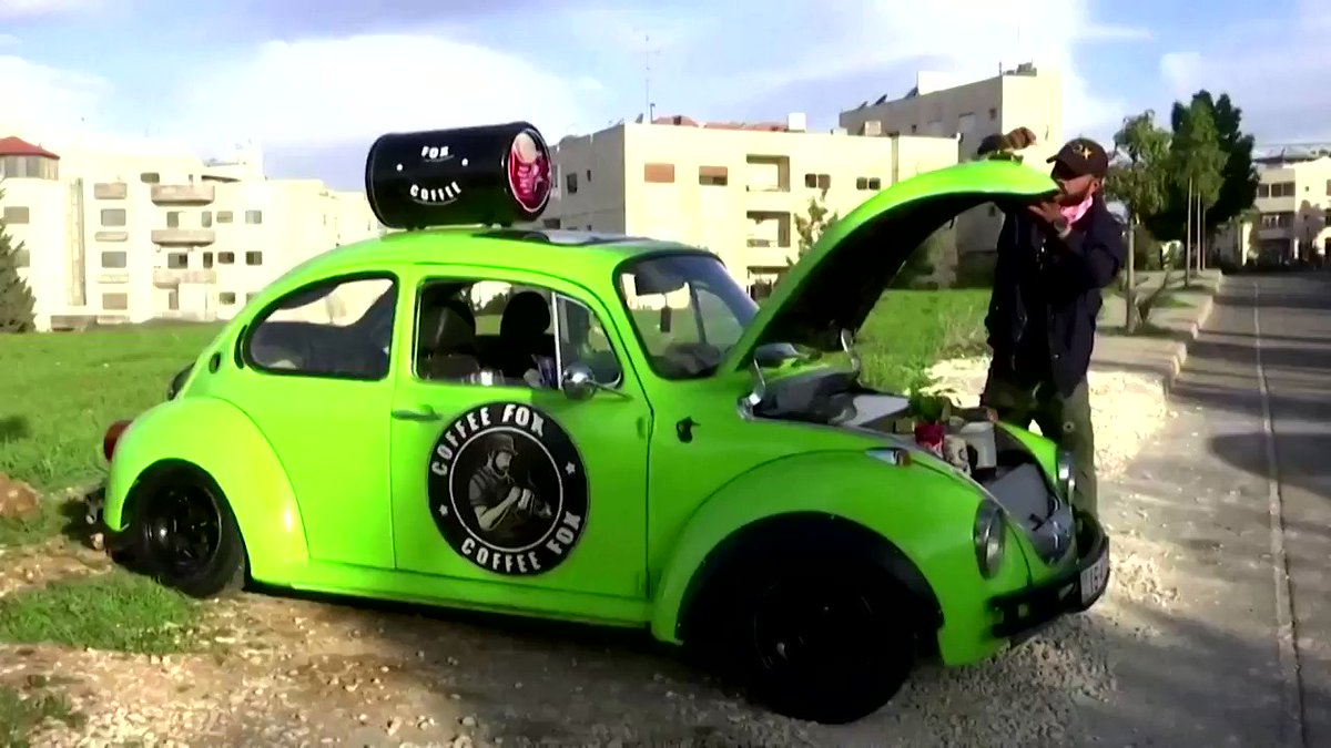 ICYMI: Jordanian Fadi Ahmad has turned his car into a coffee shop https://t.co/4PCl8OtUVi