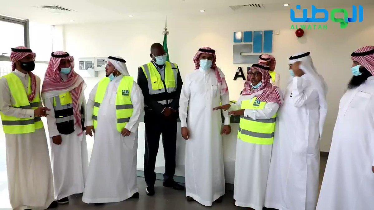 Image for the Tweet beginning: #فيديو   وزير #الصناعة_والثروة_المعدنية