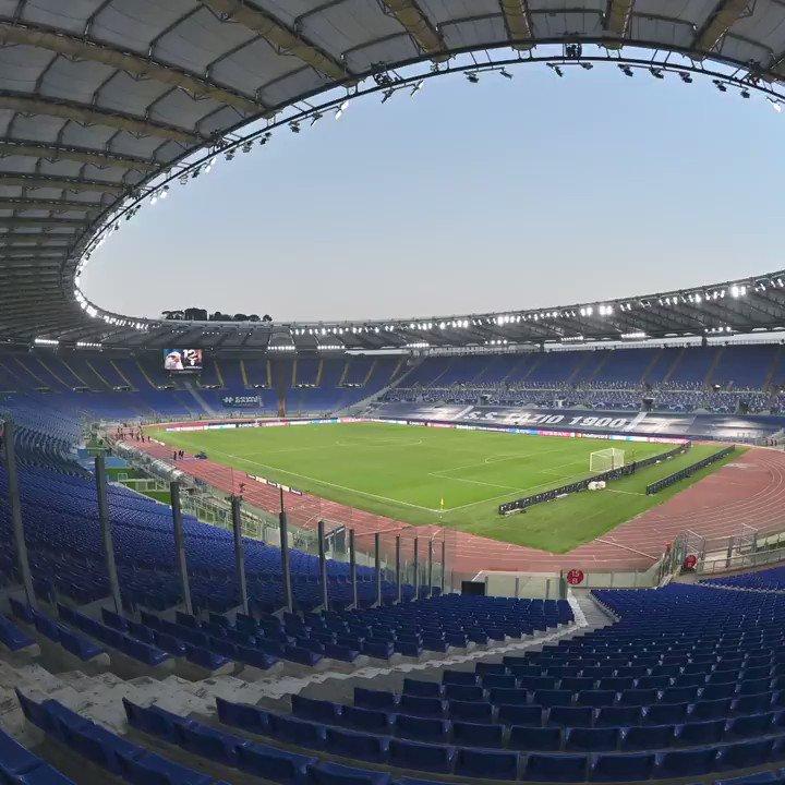 🏟️ Stadio Olimpico, Rome 🔜 Lazio 🆚 Bayern  🔮 Predict the first leg in three words...  #UCL | @OfficialSSLazio https://t.co/2b48x4FAHI