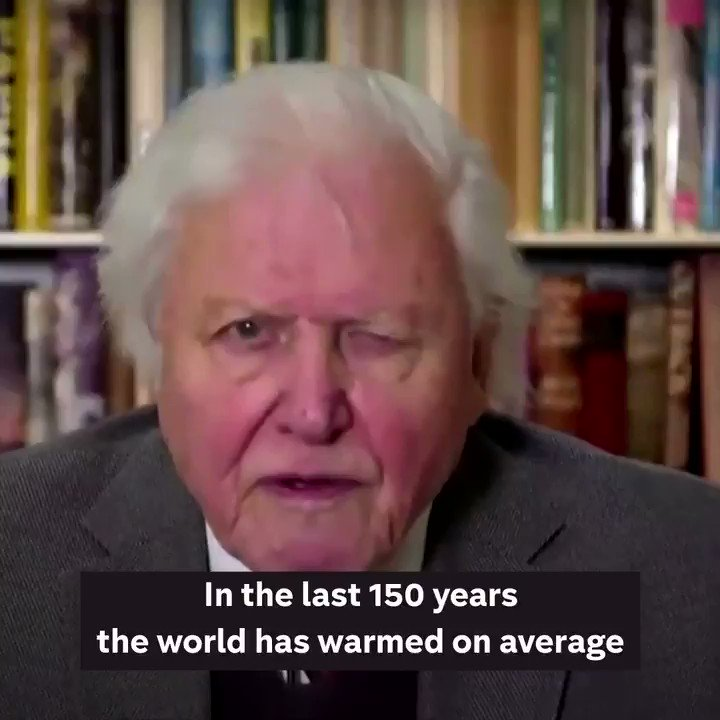 """""""Climate change is the biggest threat to security that modern humans have ever faced.""""  Sir David Attenborough delivered a stark warning in a virtual meeting with the United Nations Security Council today."""