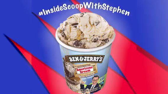 I answered your vegan Americone Dream questions, with a special appearance from Benny! #InsideScoopWithStephen