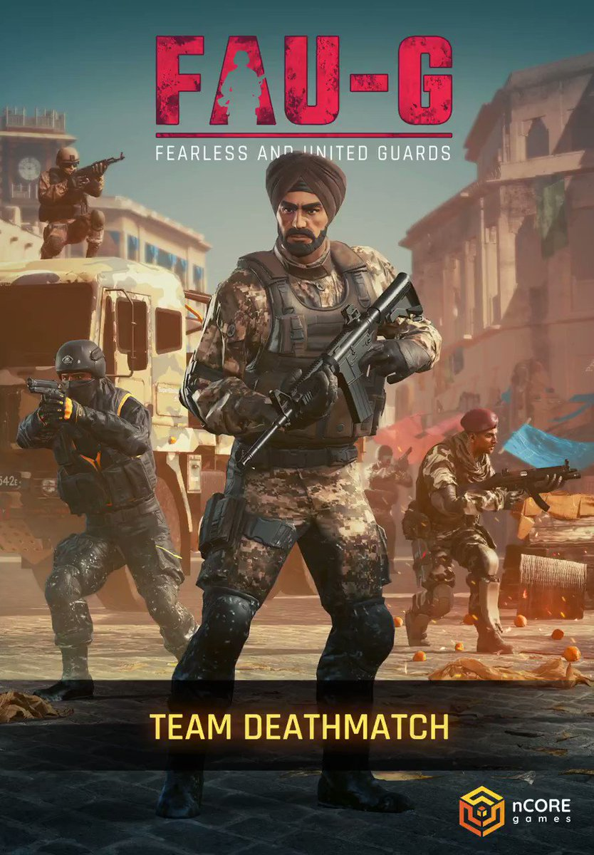 Find your friends, form your squad, fight for freedom! FAU-G's multiplayer Team Deathmatch mode is coming soon!  Download now:   #FAUG #Multiplayer #AtmanirbharBharat  @BharatKeVeer @vishalgondal @nCore_games