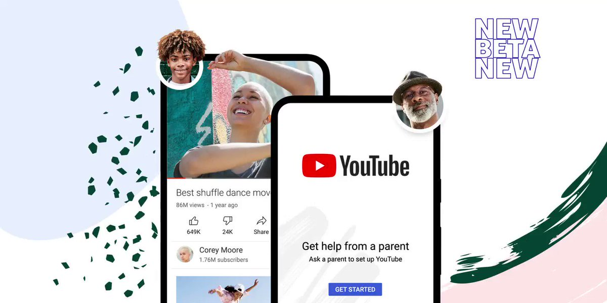 Today, we are announcing a new, supervised experience for parents who have decided their tweens and teens are ready to explore YouTube. More details here: