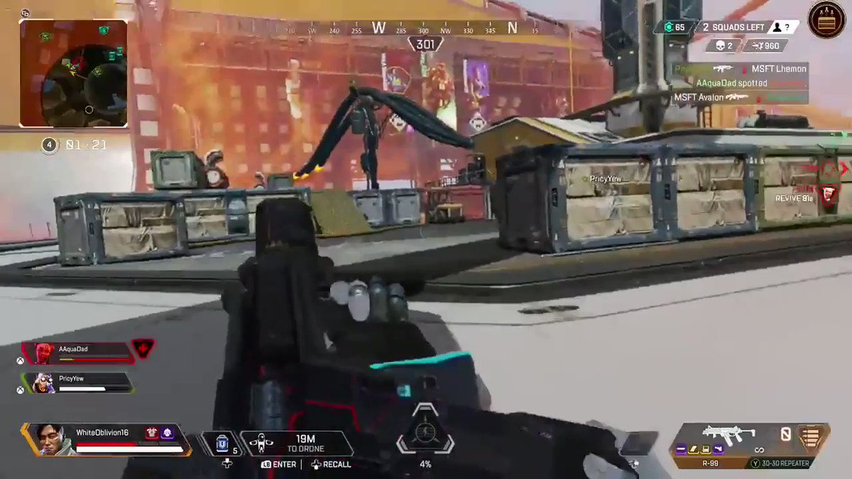 Replying to @TitanfallBlog: BOOM! Right in the... toes? 🙈  (via u/Oathkeeper141)