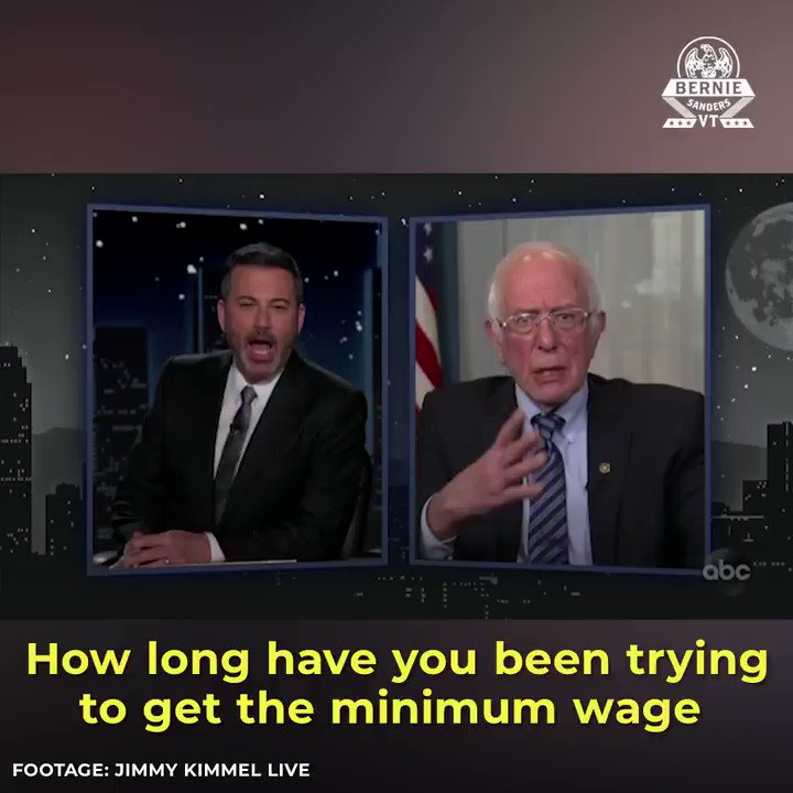 You cannot tell me that raising the minimum wage to $15 an hour is a radical idea.