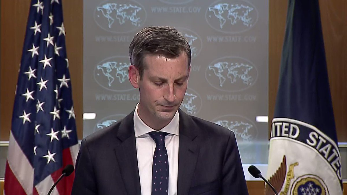 .@StateDeptSpox Price: On genocide, we have been very clear that Secretary Blinken has determined that what has taken place in Xinjiang was genocide. We've also been very clear that it constitutes crimes against humanity.