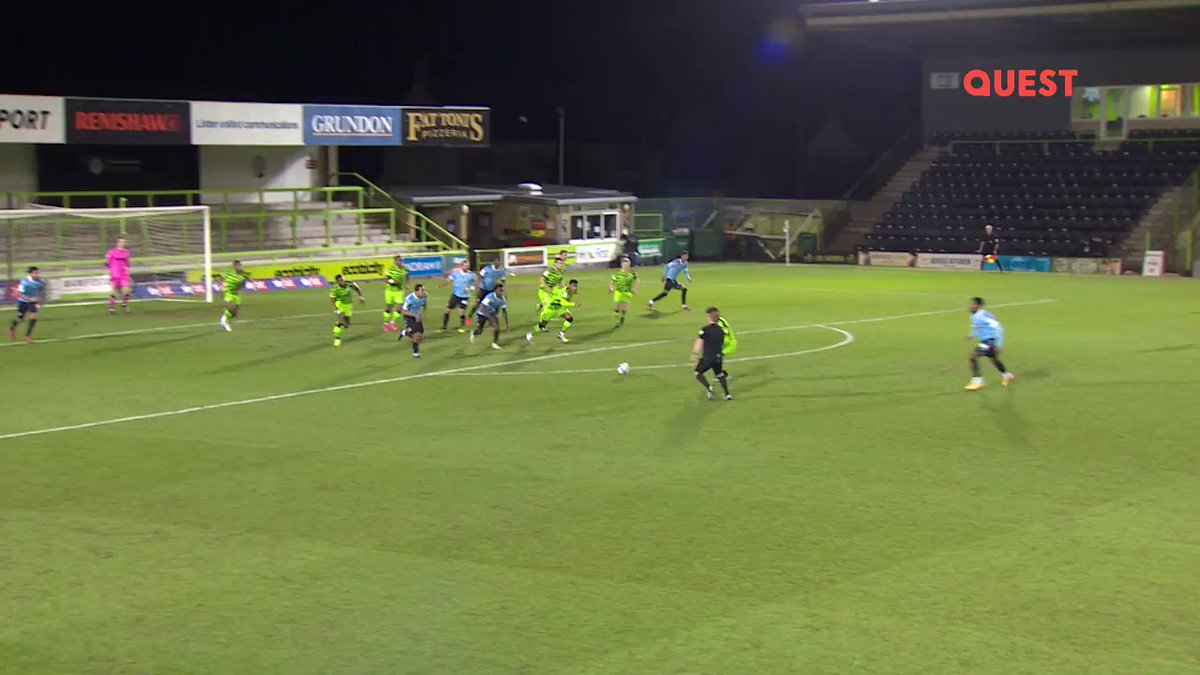 Forget UCL, the best goal you'll see today is from England's fourth tier 😱  Take a bow, Nathan Ferguson 👏  (via @QuestTV)