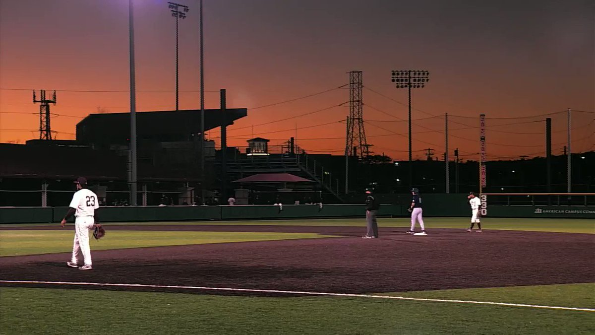 Nothing quite like a sunset at the ballpark. #EatEmUp