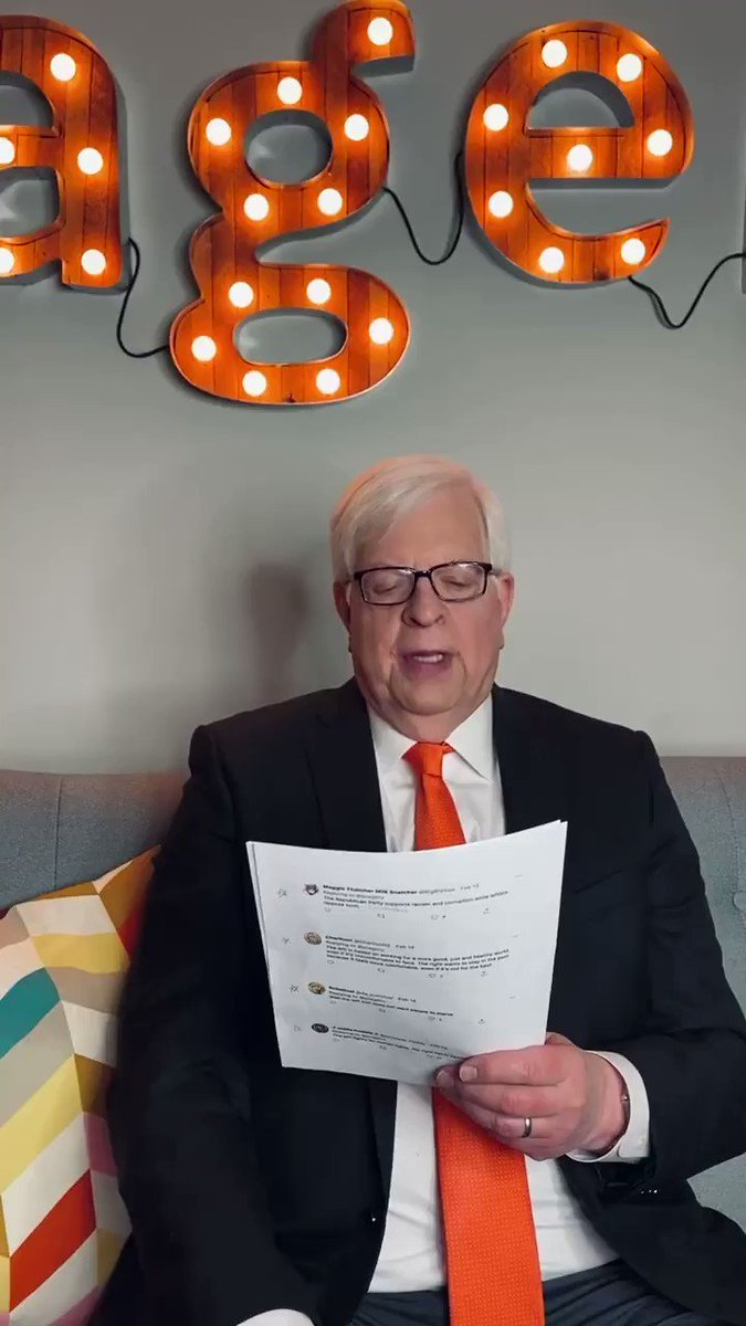 Image for the Tweet beginning: .@DennisPrager responds to some tweets!