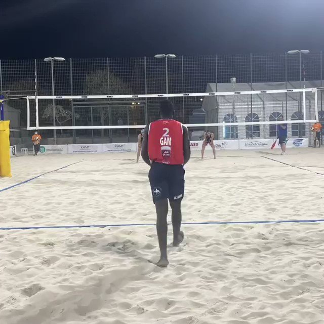 Doha #BeachVolleyball Cup Update: Elimination bracket set for today!  Enjoy this mega rally between USA and Gambia.  @FIVBBeach FULL STORY: https://t.co/iIuaJnxAXp  📹 https://t.co/UxKILLdLSq https://t.co/McZOBILC17