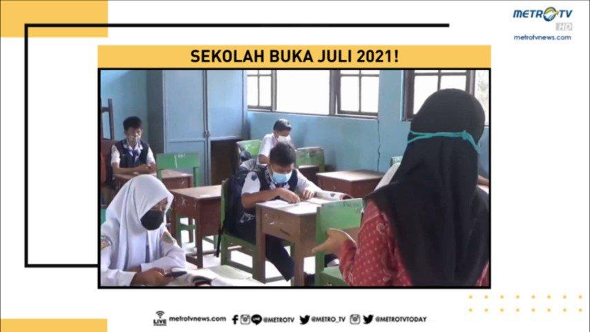 Presiden Joko Widodo menargetkan vaksinasi pada lebih dari 5 juta pendidik dapat rampung pada Juni mendatang agar pembelajaran semester kedua tahun ini dapat digelar secara tatap muka.  #MetroSiang #KnowledgetoElevate