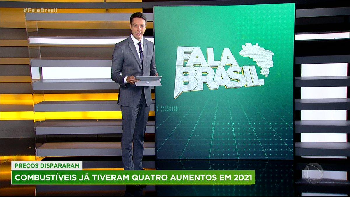 Transportadores estão paradas em Minas Gerais, por conta da alta dos combustíveis. Veja no #FalaBrasil