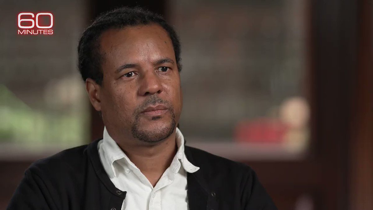 "Sunday on 60 Minutes: two-time Pulitzer Prize-winning novelist Colson Whitehead explains his own ""existential terror"" of being descended from slaves and how it shapes his writing."