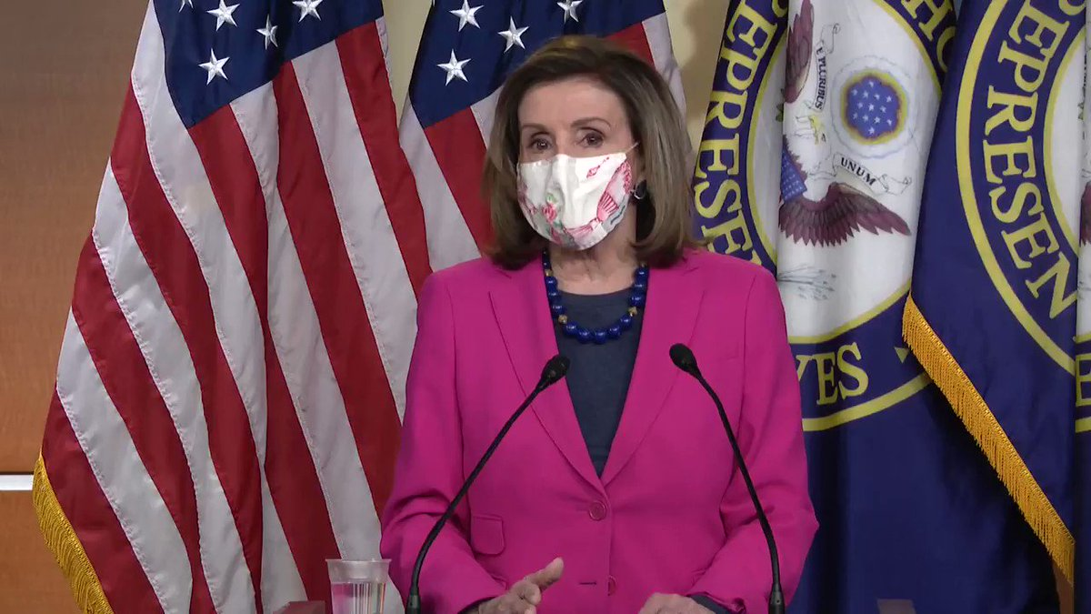VIDEO Madam Speaker Pelosi calls out Minority Leader Mitch McConnell for not wanting to do a full Capitol attack-domestic terror commission: #CNNSOTU #TheSundayShow #MeetThePress #FoxNewsSunday #FaceTheNation #ThisWeek #SundayThoughts