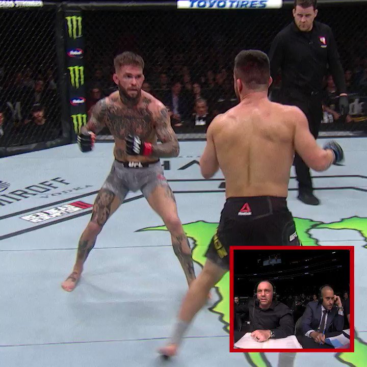 The end of this @PedroMunhozMMA fight was BANANAS 😱  [ #UFCVegas20 | Saturday on #ESPNPlus ]